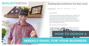 How to Design Weekly Email for Your Business
