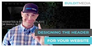 Designing the Header for your Website