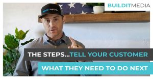 The Steps Tell Your Customer What They need To Do Next