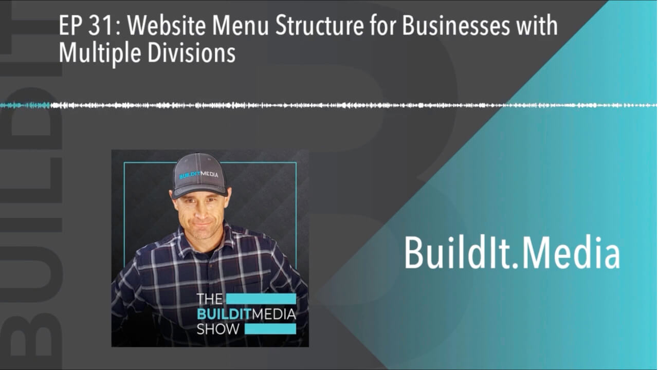 Website Menu Structure for Businesses with Multiple Divisions